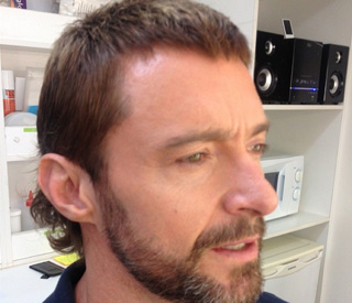 Hugh Jackman reveals his dramatic new hairstyle