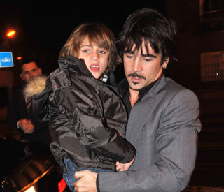 Colin Farrell says son is 'an absolute stud'