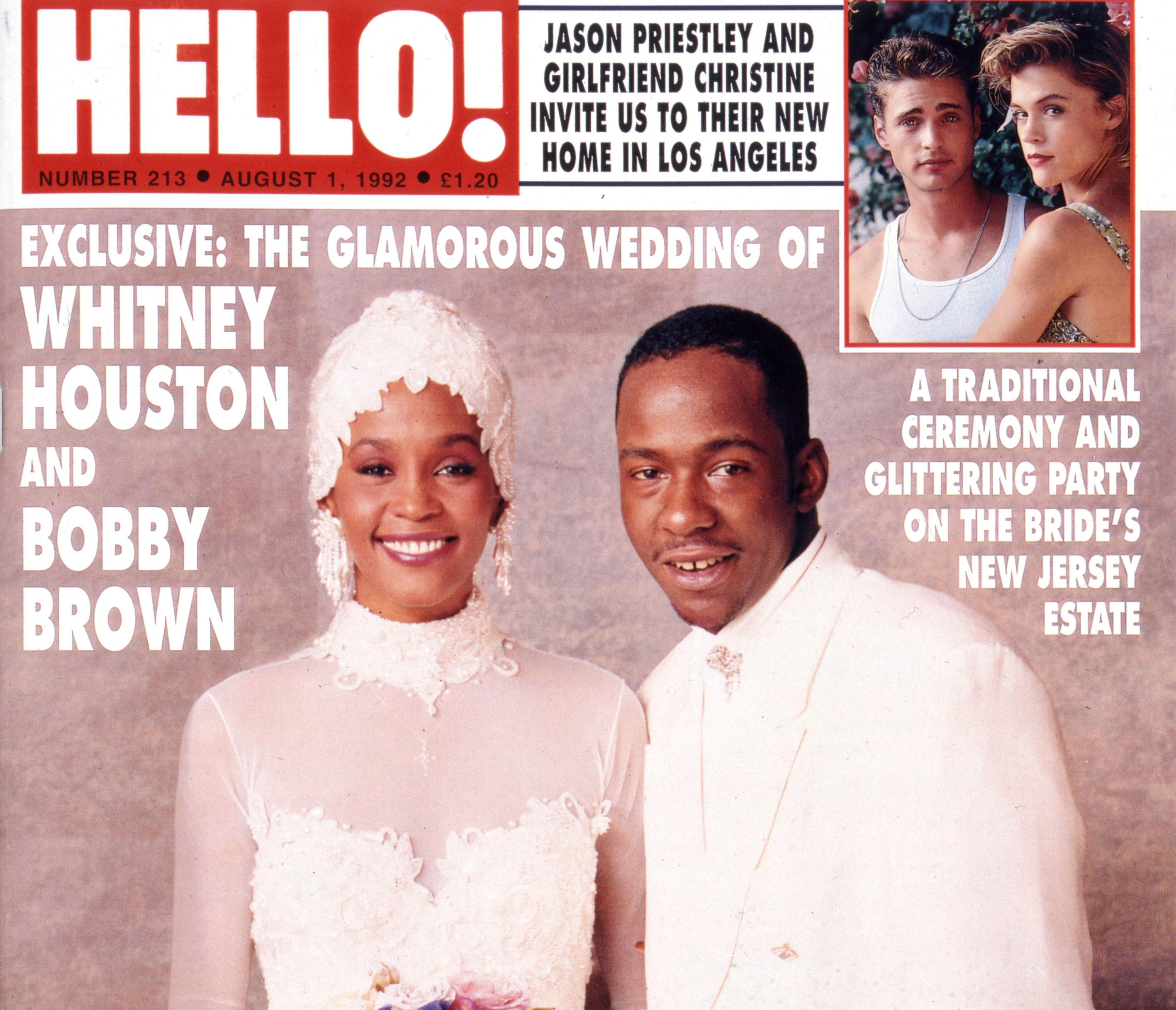 HELLO! in History: Whitney Houston and Bobby Brown