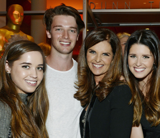 Maria Shriver on Patrick Schwarzenegger's looks
