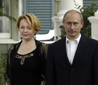 Vladimir Putin confirms divorce from wife of 30 years