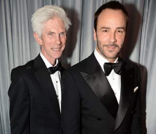 Tom Ford marries partner Richard Buckley