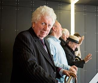 Tom Baker admits he'd like to return to Doctor Who