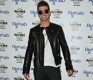 Robin Thicke's Blurred Lines tops Britain's all-time charts