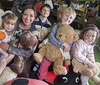 Charlotte Church joins teddy bears picnic