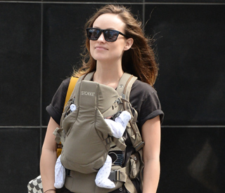 New mum Olivia Wilde looks amazing at conference
