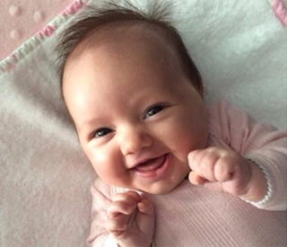 Tamara Ecclestone reveals daughter's gorgeous grin