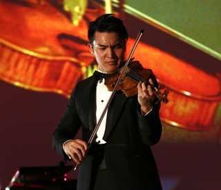 Star violinist wows at British Friends of the Israel Philharmonic Orchestra gala