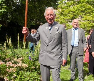 Prince Charles celebrates 5th year of Campaign for Wool