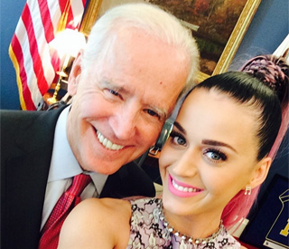 Katy Perry tweets snap with VP Joe Biden