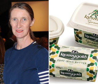 Orla Kiely designs limited edition packaging for Kerrygold butter