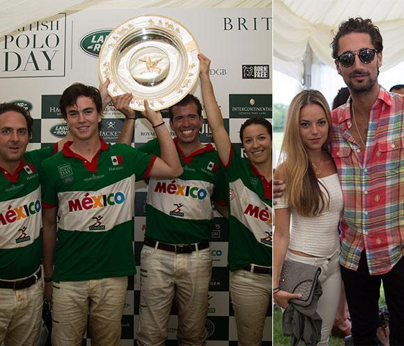 Celebrities brave the weather for annual British Polo Day