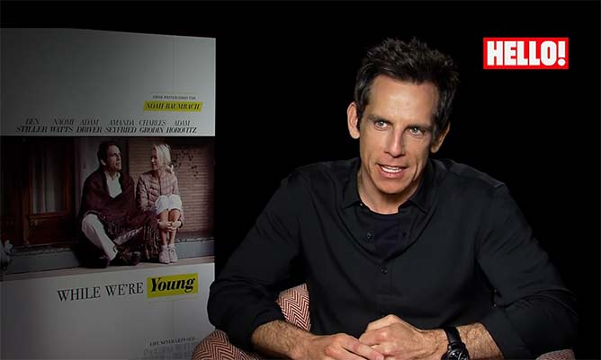 VIDEO: Ben Stiller opens up on ageing and social media