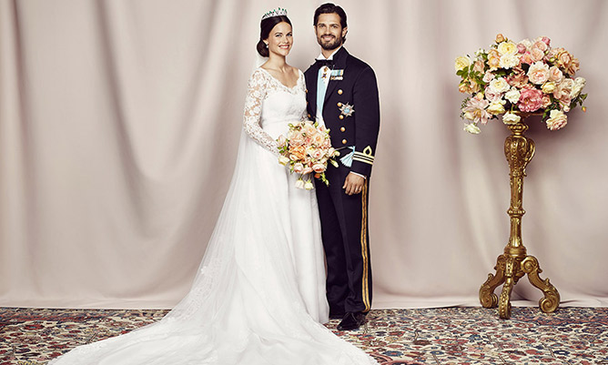 Prince Carl Philip and Sofia Helqvist
