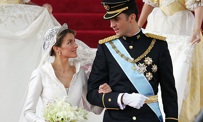 Prince Felipe and Letizia Rocasolano