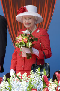 Queen Elizabeth visits Canada: Canada Day