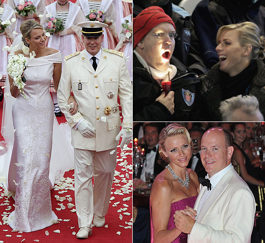 Princess Charlene and Albert