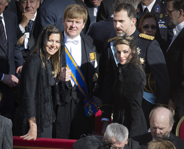 Prince Felipe and Princess Letizia