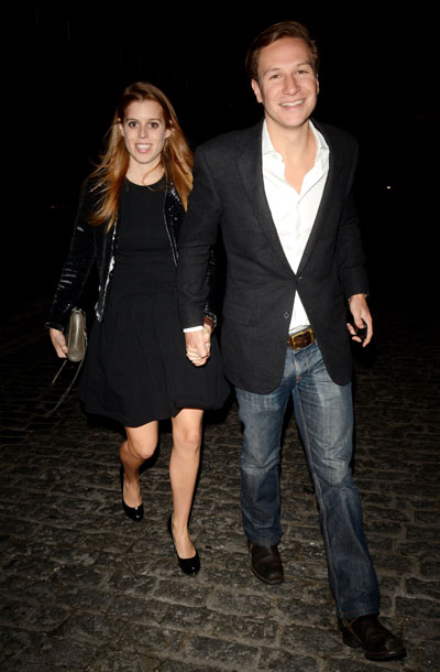 Princess Beatrice and boyfriend