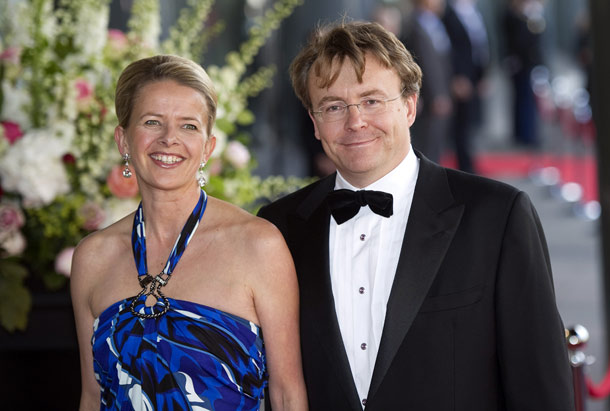Princess Mabel and Prince Friso