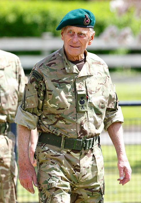 Captain General of the Royal Marines, His Royal Highness Prince Philip, Duke of Edinburgh