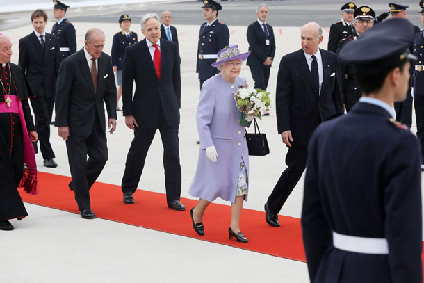 The Queen and Prince Philip in Rome