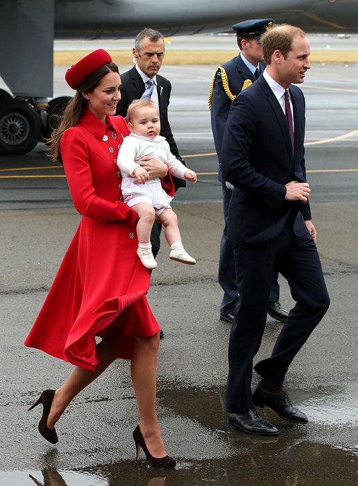 william, kate and george royal tour