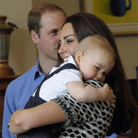 Prince George Royal Tour