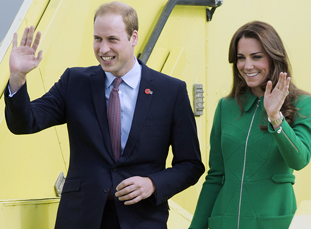 prince william and kate middleton plane