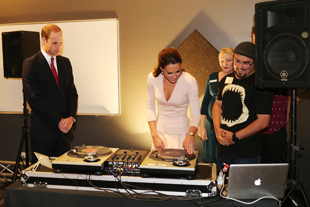 kate middleton dj