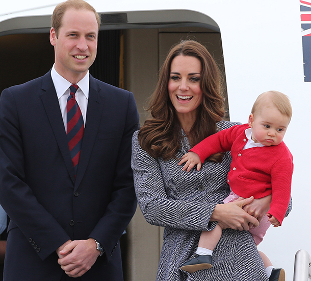 prince george duchess kate