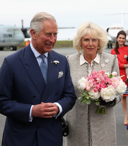Prince Charles and Camilla in Canada