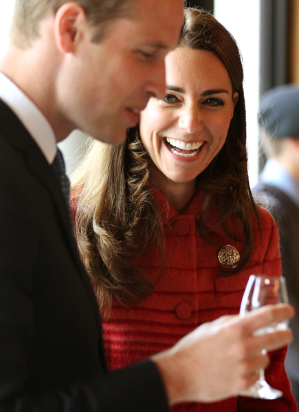 Prince William and Kate Middleton in Scotland