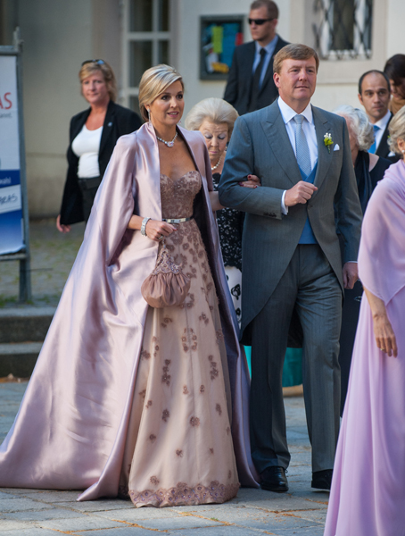 Queen Máxima at wedding