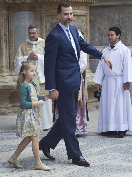 Prince Felipe and Princess Leonor