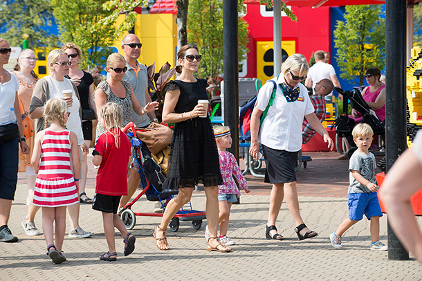 Princess Mary visits legoland with her twins