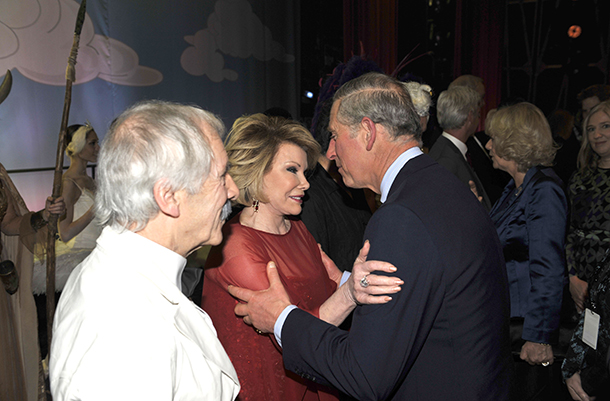 Prince Charles and Joan Rivers