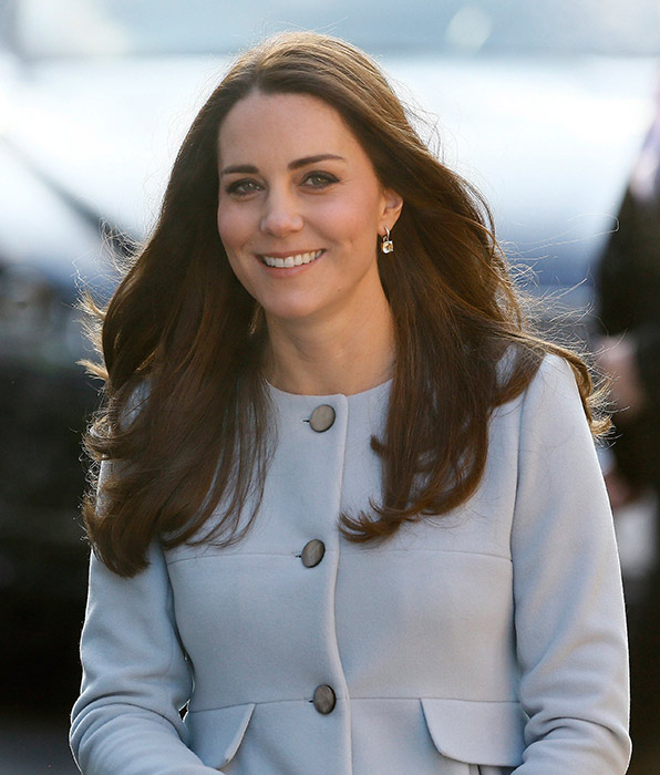 Duchess Kate brings her usual warmth to chilly day of public engagements in Kensington