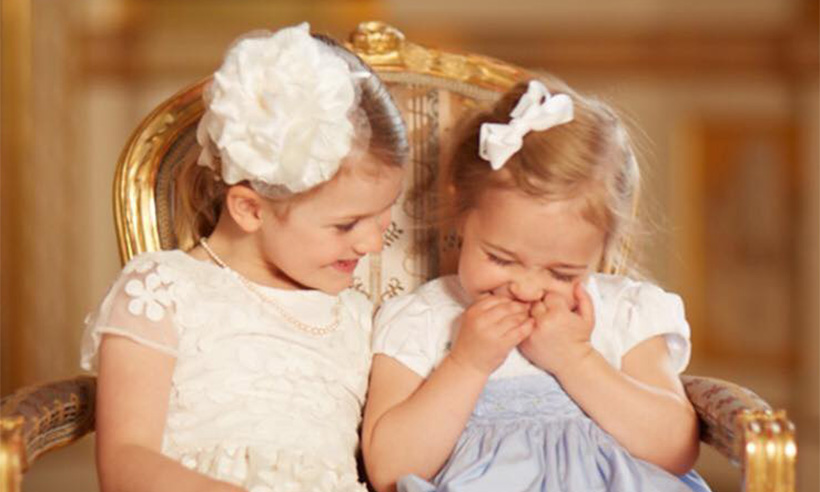 Princess Madeleine of Sweden shares adorable photos of best friends Princess Estelle and Princess Leonore