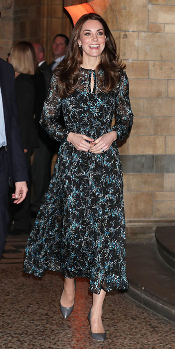 duchess of cambridge natural history musuem