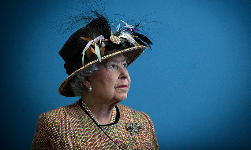 Queen Elizabeth II Delights Royal Fans With A Surprise Appearance At LFW