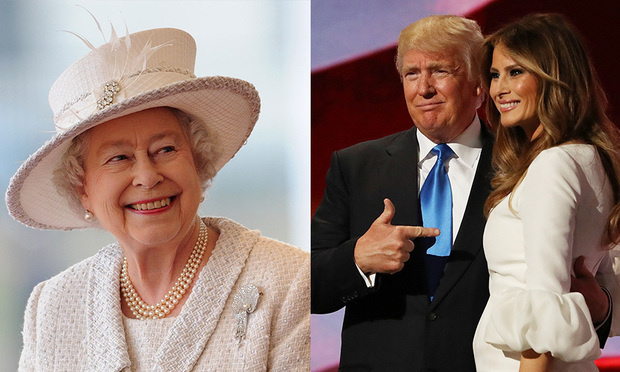 The Queen invites Donald Trump to visit the UK