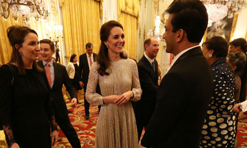 Kate middleton uk-india year of culture launch royal family