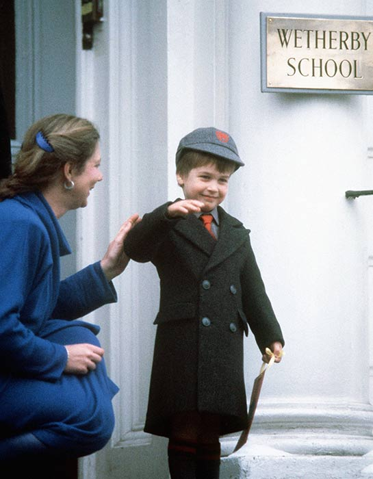 Prince-William-first-day-school