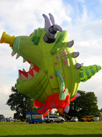 Monster special shape balloon