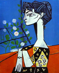 Jacqueline with flowers, Picasso