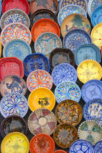 Sidi Bou Said ceramics