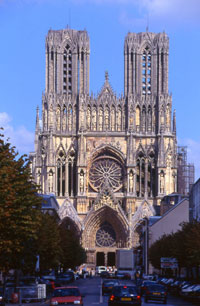 Reims cathedral 800 anniversary