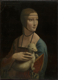Leonardo da Vinci, Lady with Ermine