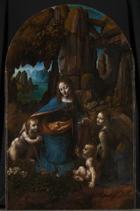 Leonardo da Vinci, Virgin of the Rocks, National Gallery